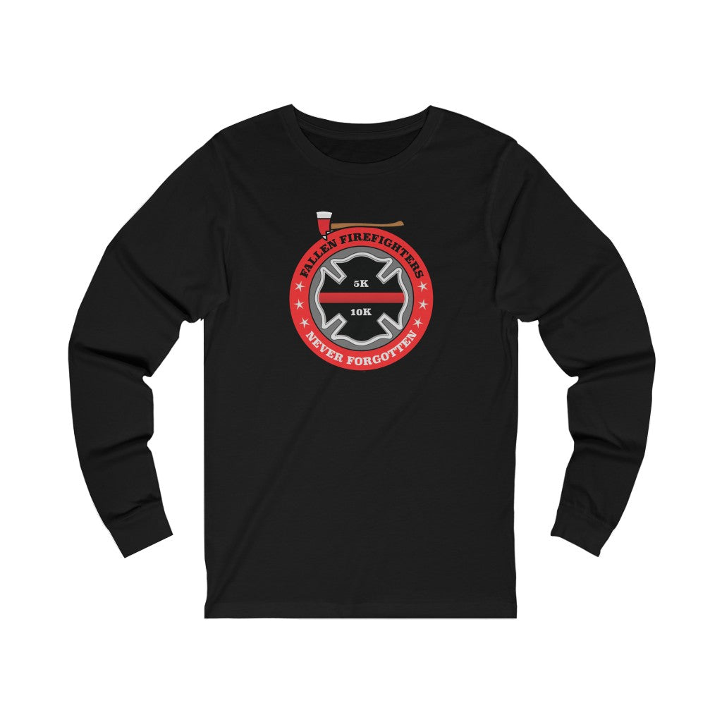 Fallen Firefighter Long Sleeve Shirt Black