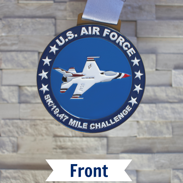 Military Series – Air Force 5K/19.47 Mile Challenge Virtual Race