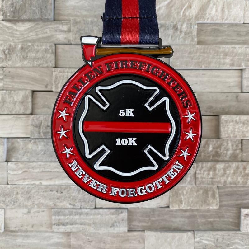 Pre-order: Fallen Firefighters 5K/10K Virtual Race ships on or before April 22th