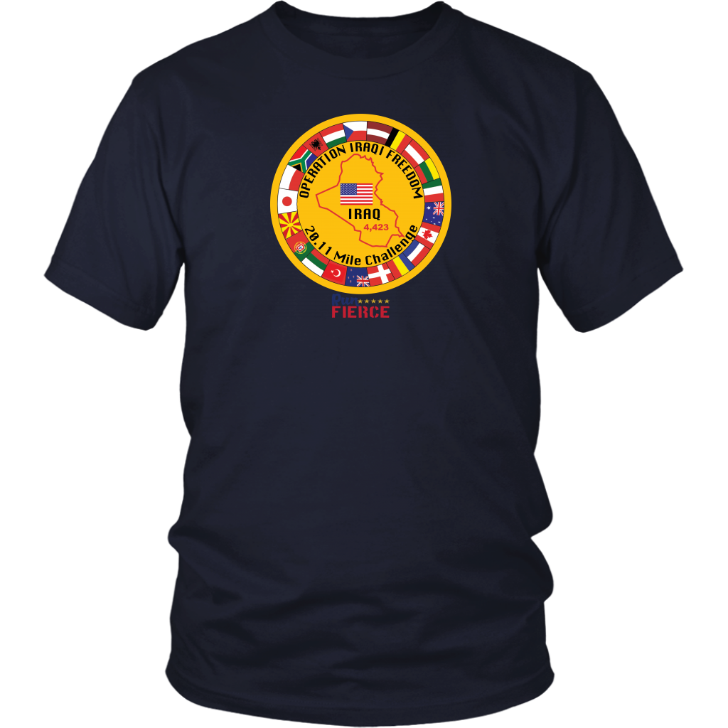 Operation Iraqi Freedom 20.11 Mile Challenge Unisex T-shirt