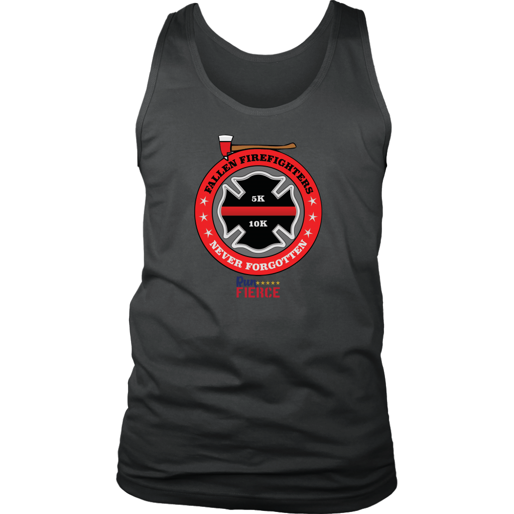 Fallen Firefighters 5K/10K Virtual Race Mens Tank