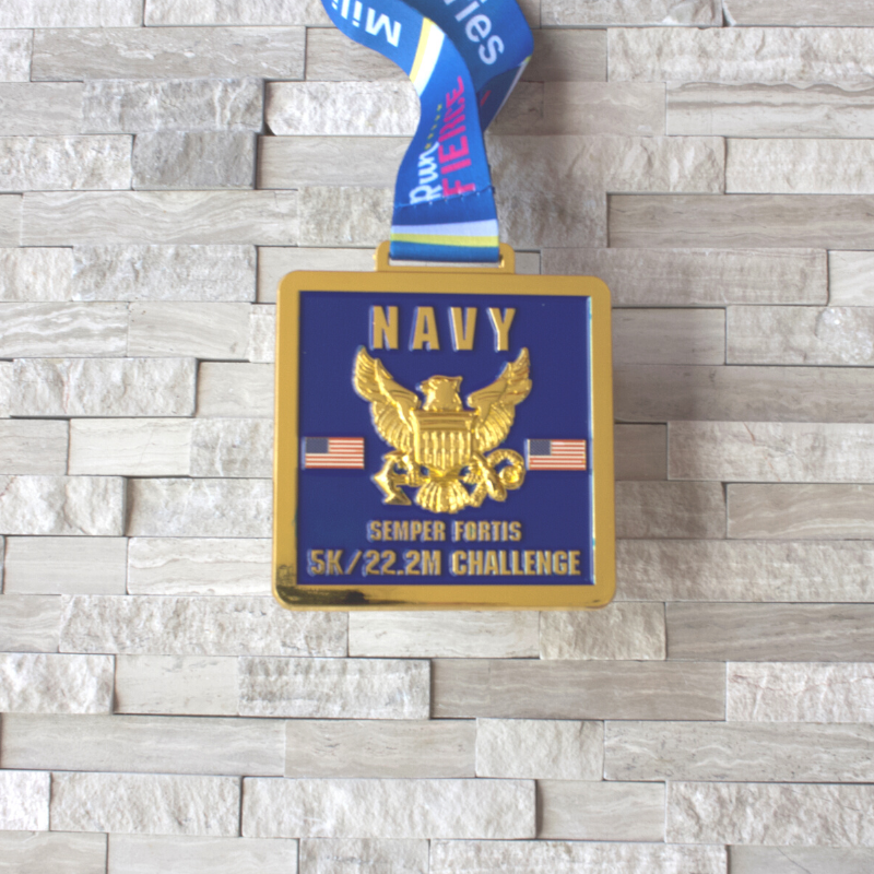 Military Series: Navy 5K/22.2 Mile Challenge Virtual Race