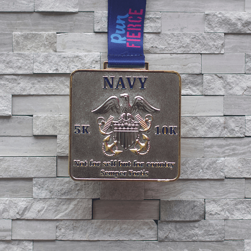 Military Series Navy 5K/10K Virtual Race [PRE-ORDER]