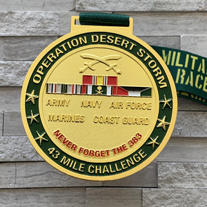 Military Series Operation Desert Storm Virtual Challenge