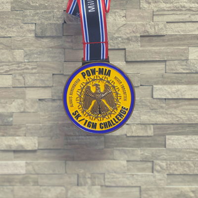 Military Series: POW - MIA 5K/16 Mile Challenge Virtual Race