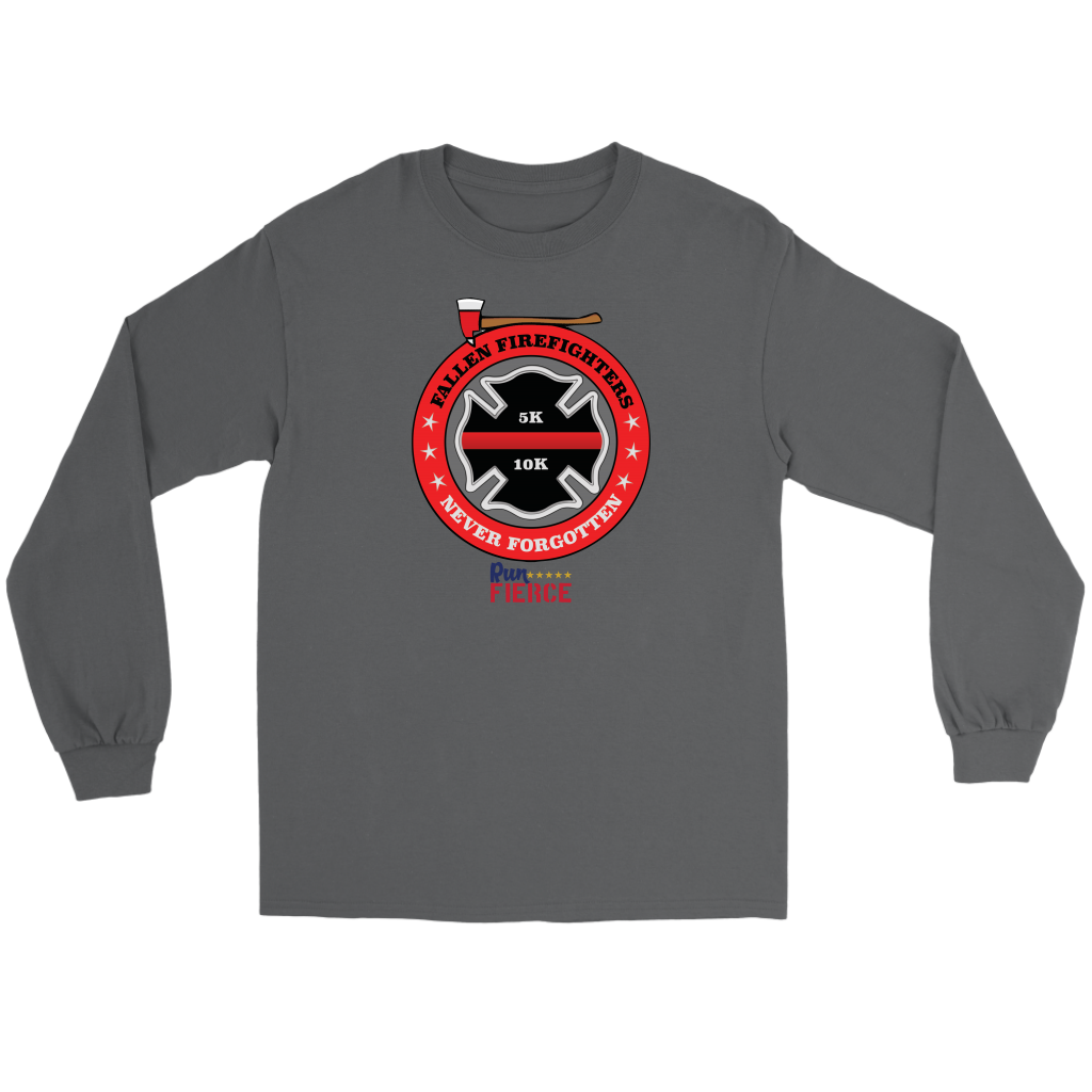 Fallen Firefighters 5K/10K Virtual Race Long Sleeve Tee