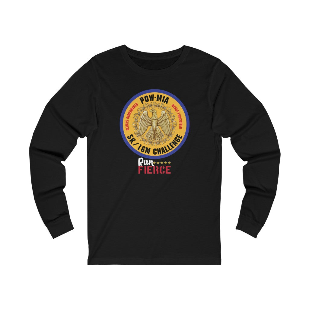 POW - MIA 5K/16 Mile Challenge Unisex Long Sleeve Shirt