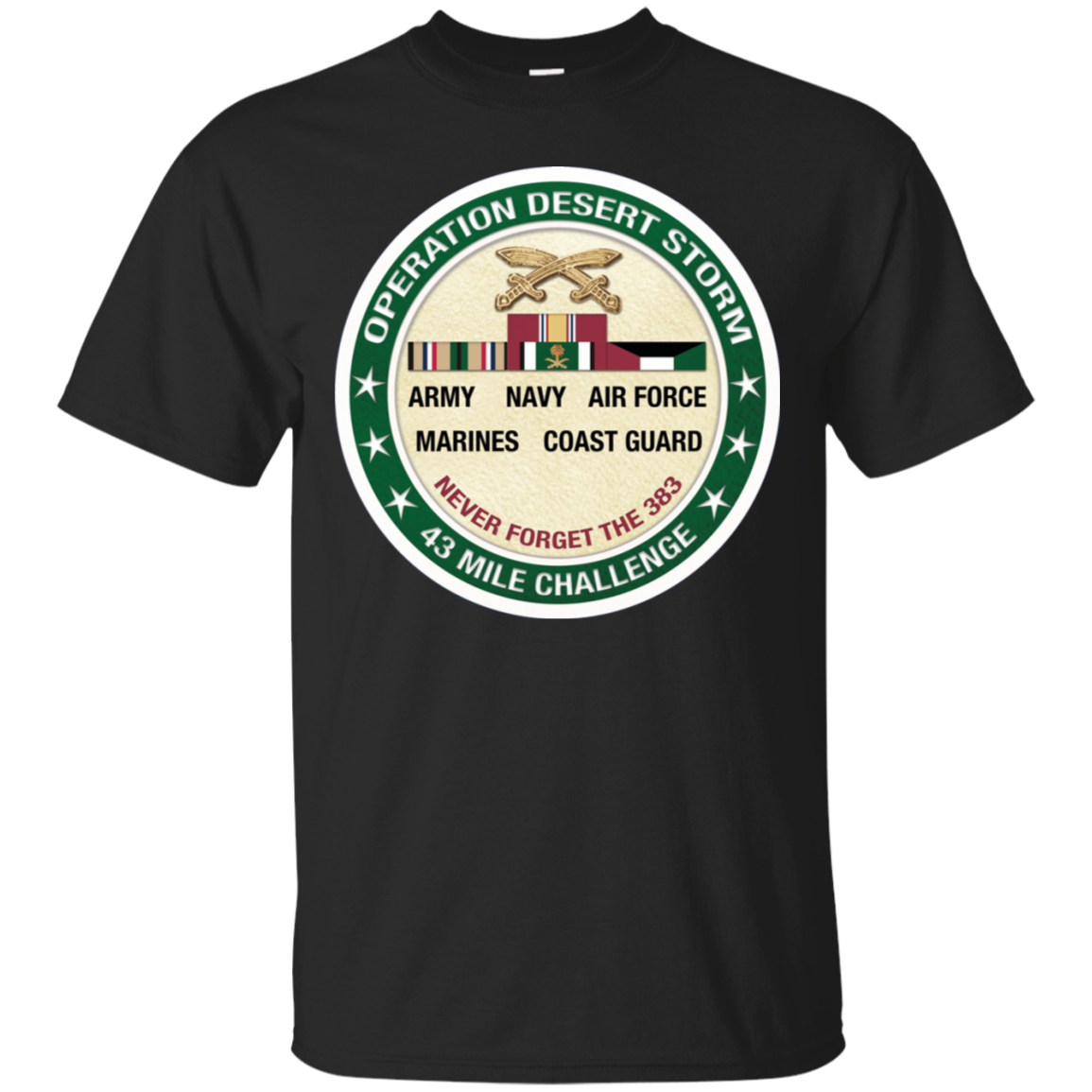 Operation Desert Storm Challenge Short-Sleeve Unisex T-Shirt