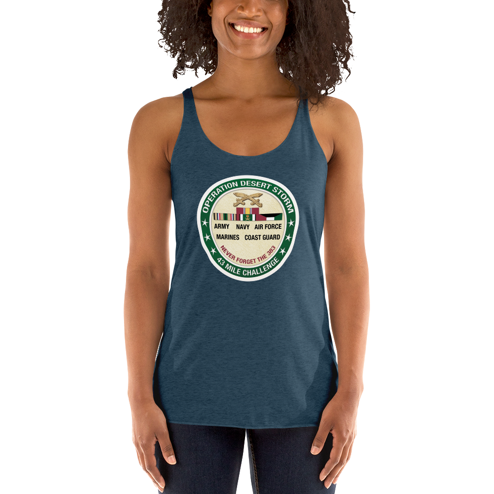 Military Series: Operation Desert Storm Women's Racerback Tank