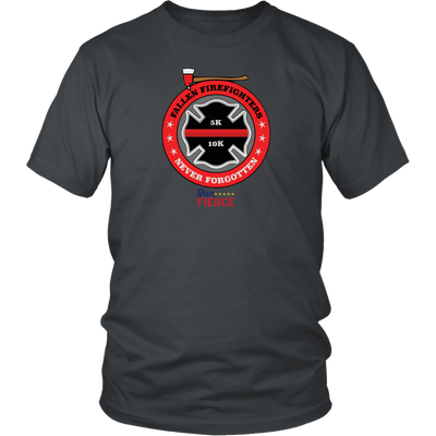 Fallen Firefighter Unisex T-shirt Dark Grey