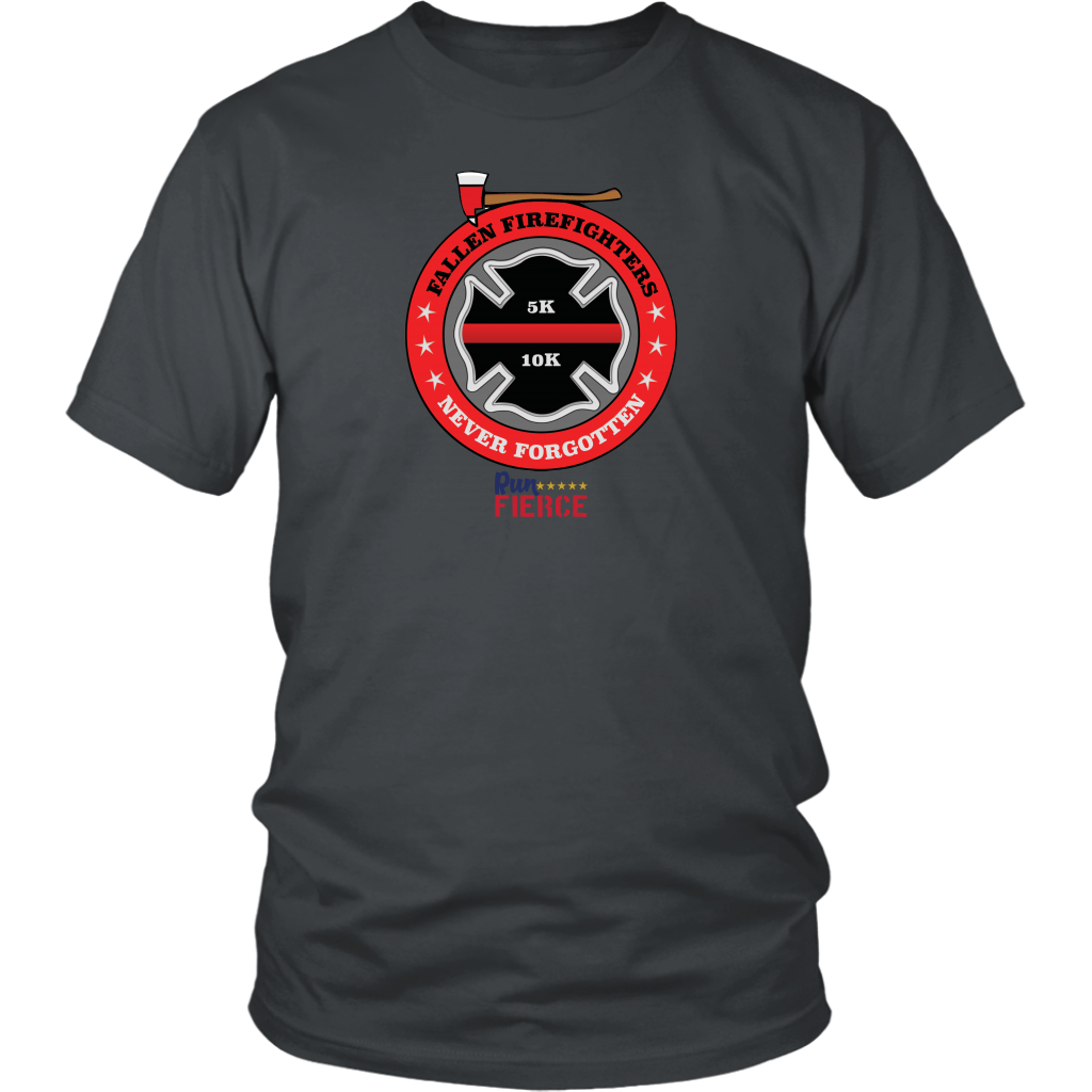 Fallen Firefighters 5K/10K Virtual Race Unisex Shirt