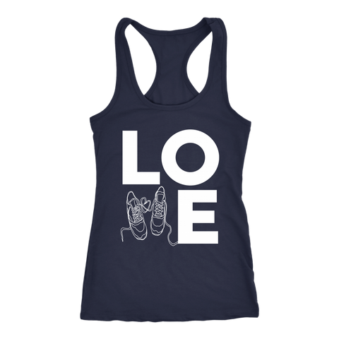 Love Running Racerback T-shirt