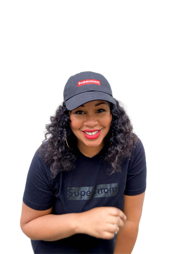 Black Supermom Cap