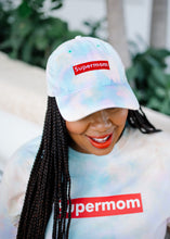 Load image into Gallery viewer, Pastel Tie-Dye Supermom Cap