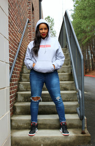 Supermom Hoodie in Gray