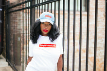Load image into Gallery viewer, Supermom Tee in White