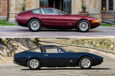 A '70s Ferrari Showdown: Ferrari 365 GTB/4 vs. 365 GTC/4