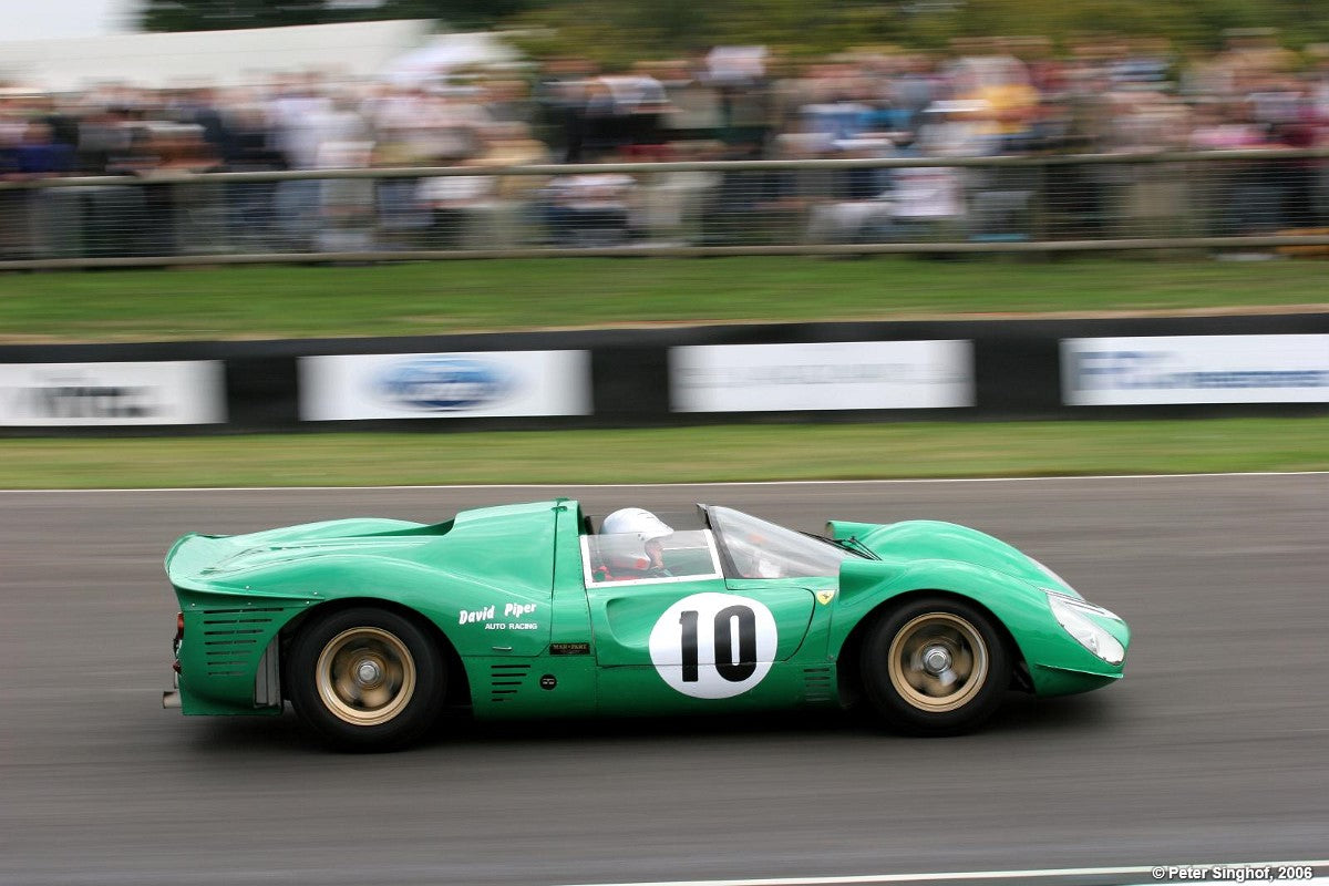 Here's Why David Piper Raced Green Ferraris