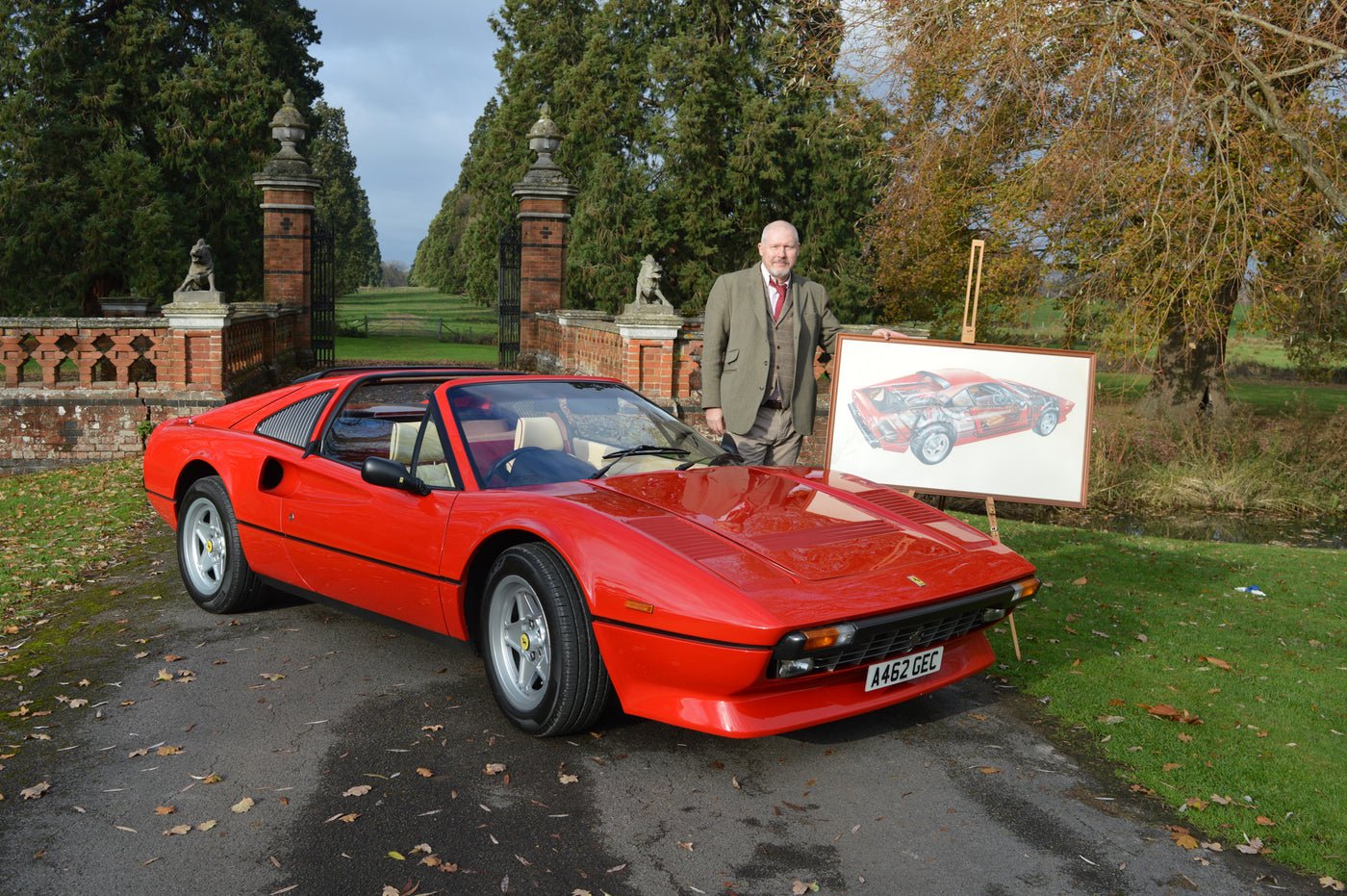 Meet John: From Painting A Ferrari 308 To Owning One