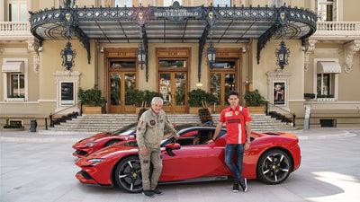 'Le Grand Rendez-Vous' Featuring Leclerc and Ferrari SF90 Stradale