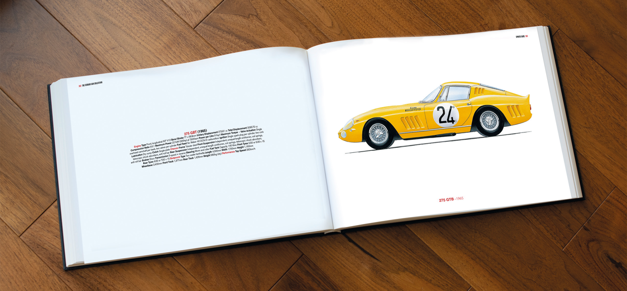 The Ferrari Collection Book: A Proper History Lesson