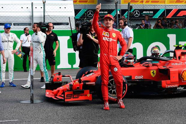 Monza Celebrates As Ferrari Wins With Leclerc