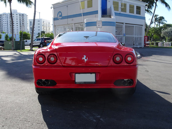 Up Close With A 2002 Ferrari 575M Maranello