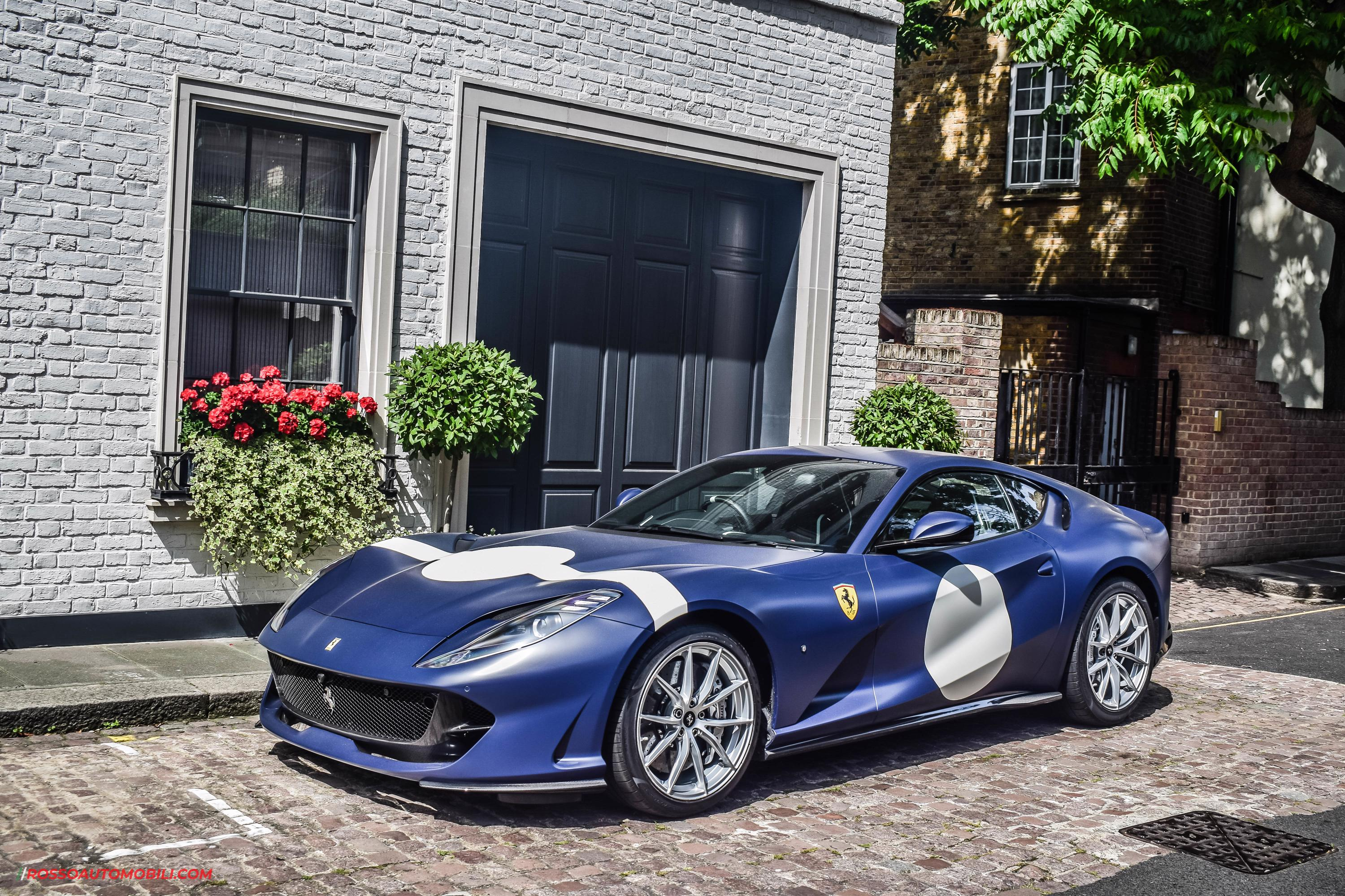 Stirling Moss Race Car Inspired This Ferrari 812 Superfast Rosso Rossoautomobili