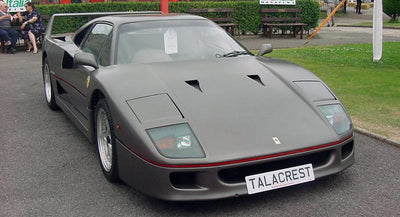 This Is Why Ferrari Sold A Gun Metal Grey Ferrari F40