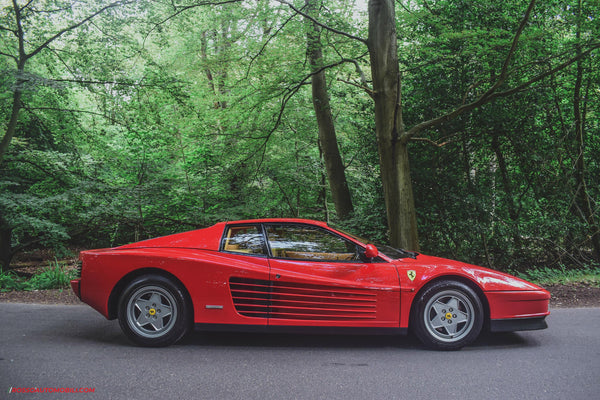 Exploring London's Back-Roads In A 1989 Ferrari Testarossa
