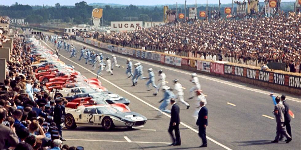 1965 24 Hours of Le Mans Start