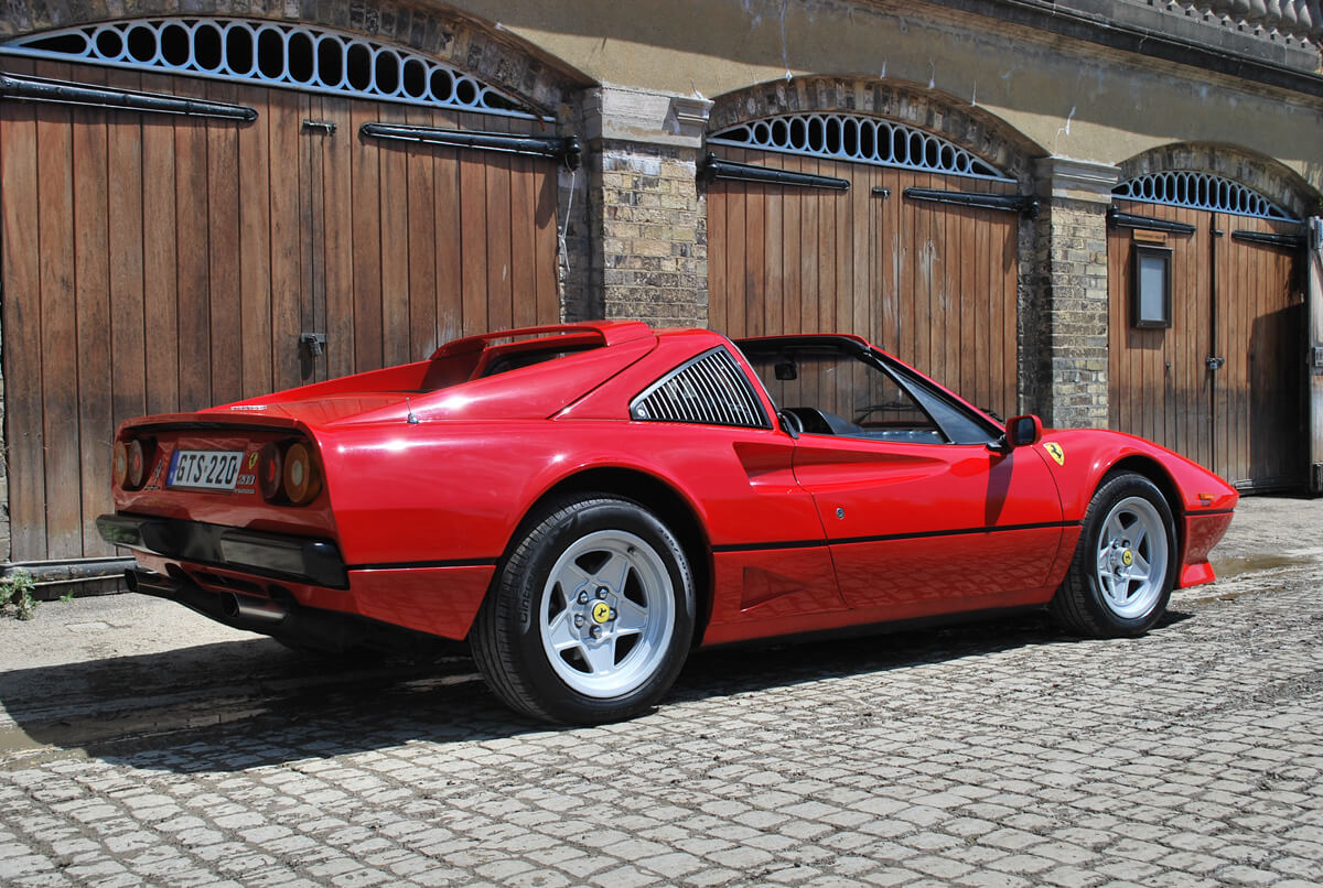 1982 Ferrari 208 GTS Turbo