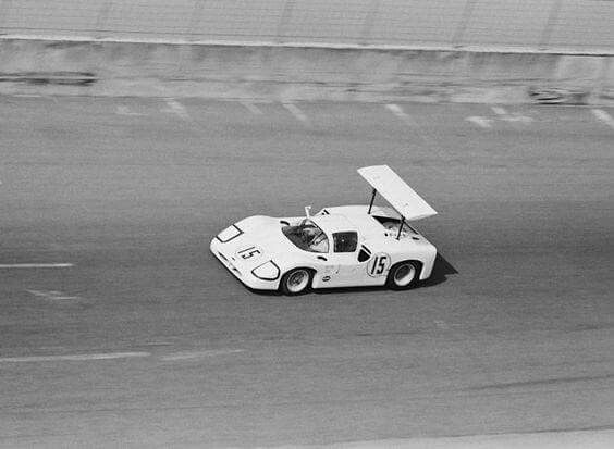 Chaparral 2F #2F001 driven by Phil Hill and Mike Spence