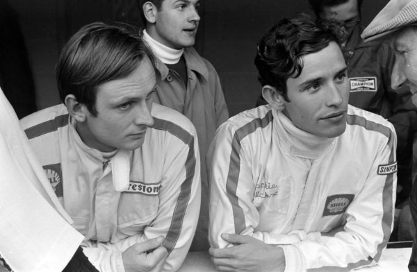 Chris Amon and Jacky Ickx