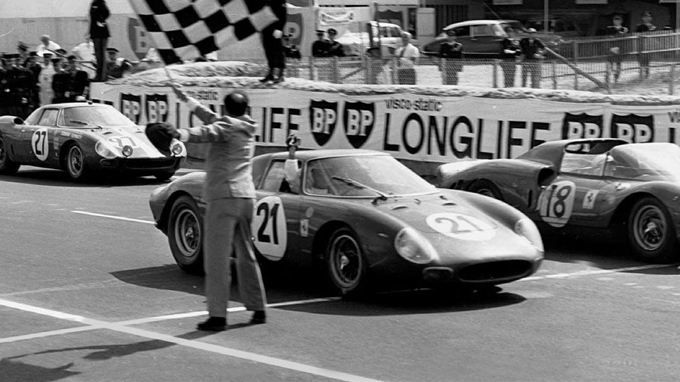 Finish of 1965 24 Hours of Le Mans