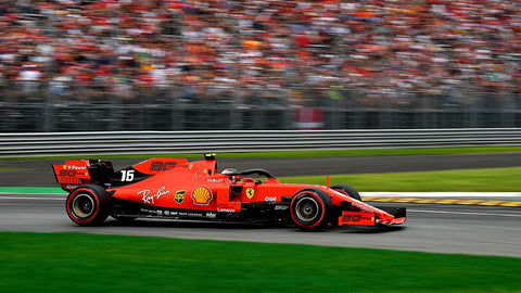 Charles Leclerc Monza 2019