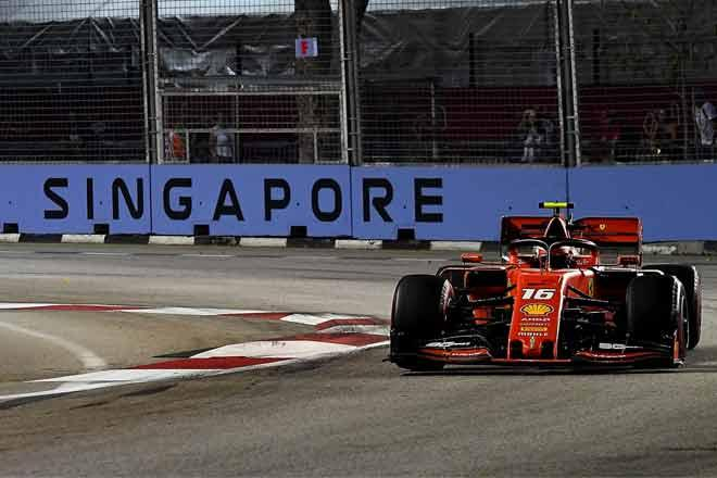 Charles Leclerc Singapore 2019