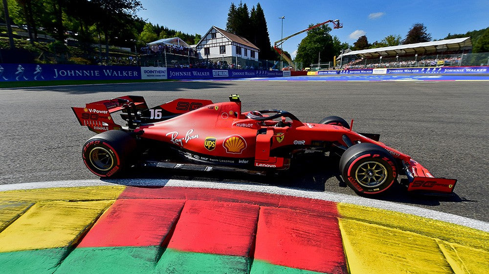 Charles Leclerc Spa-Francorchamps 2019