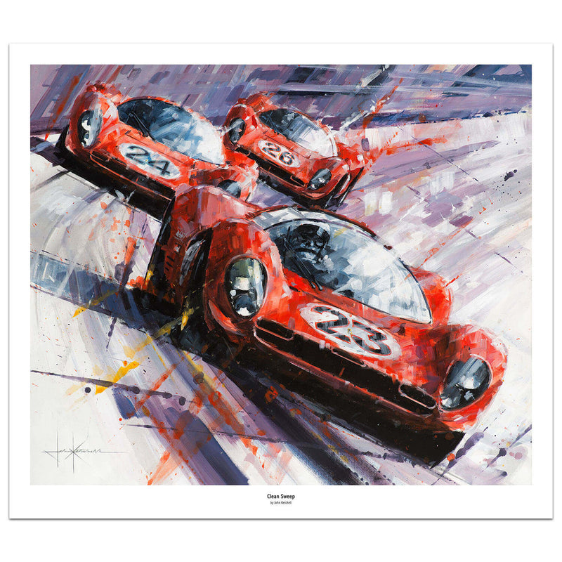 1967 24 Hours of Daytona by John Ketchell