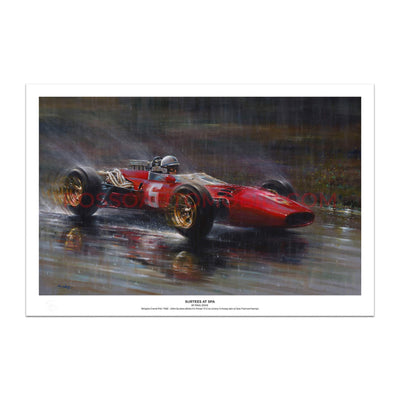 Ferrari 312 (Surtees) – Art Print