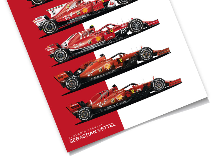 Vettel Single Seaters