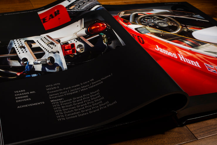 My Selection of F1 Cars From Bernie's Collection by Luca di Montezemolo - ROSSOautomobili
