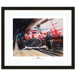 Ferrari 375 F1 by John Ketchell