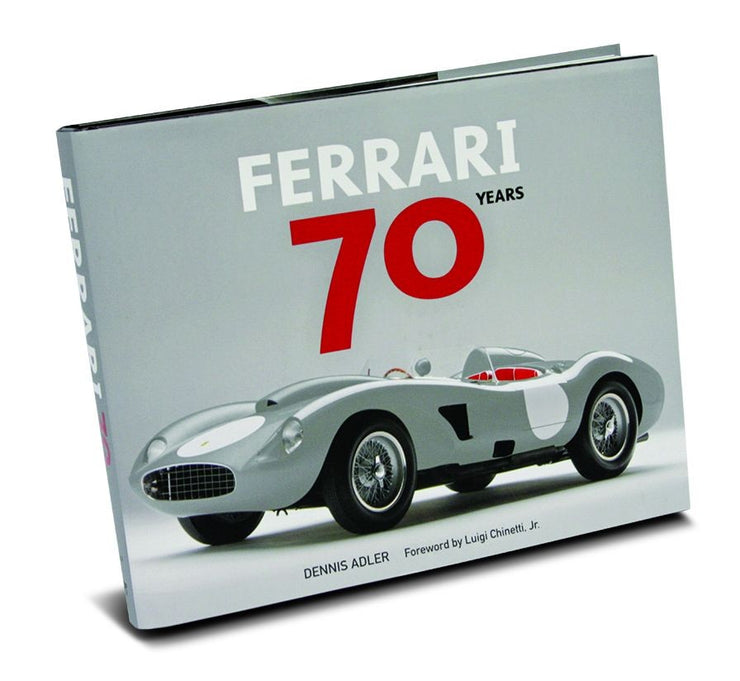 Ferrari 70 Years by Dennis Adler - ROSSOautomobili