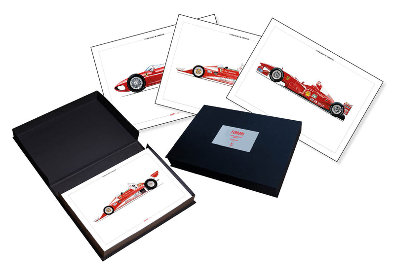 Complete Ferrari Cars Box Set