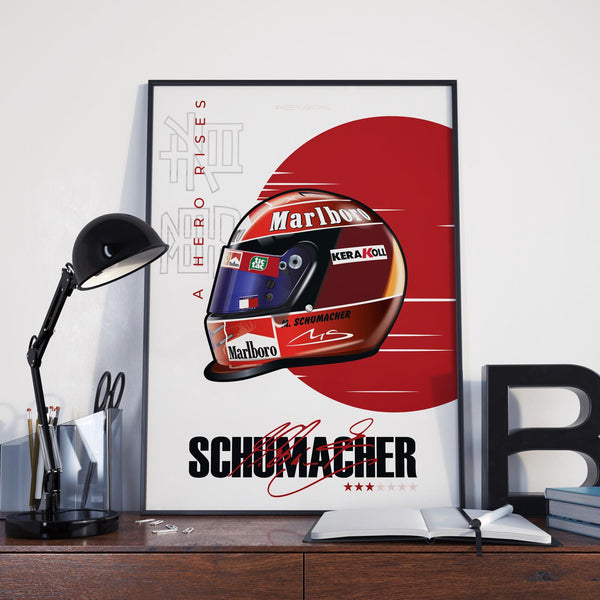 Schumacher Helmet 2000 Japanese GP