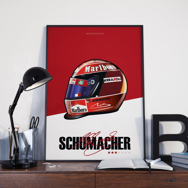 Schumacher 2000 Helmet by OmacDesign