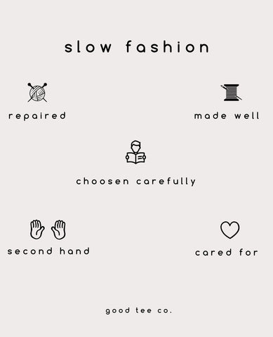 Slow Fashion Sustainability fast fashion ethical