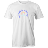 Good Vibes Happy Days - Men's AS Colour Organic Tee