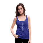 Good Karma Lives - Women's Premium Tank Top - royal blue